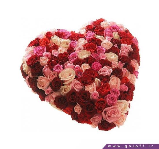 سبد گل عاشقانه - سبد گل رز امانوئل - Emanuel   گل آف