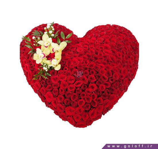 سبد گل قلبی - سبد گل فدیلیا - Fedelia | گل آف