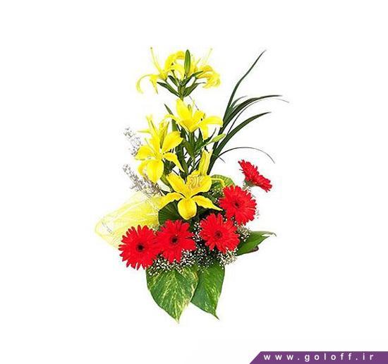سبد گل کوچیک - سبد گل لاندا - Landa | گل آف