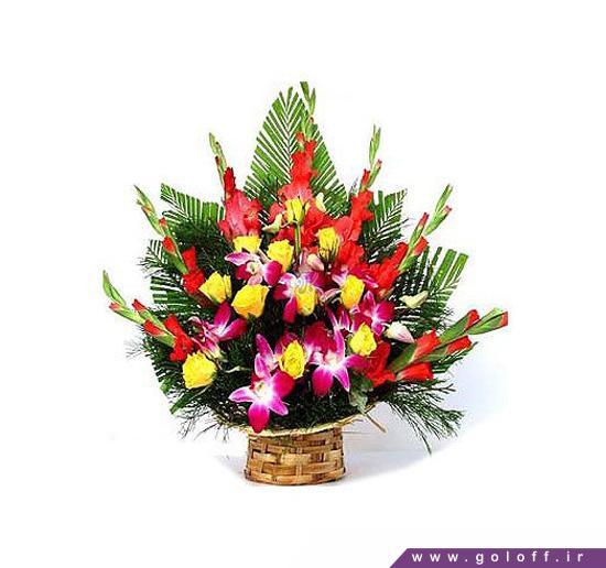 سبد گل ساده - سبد گل لِرین - Leryn   گل آف