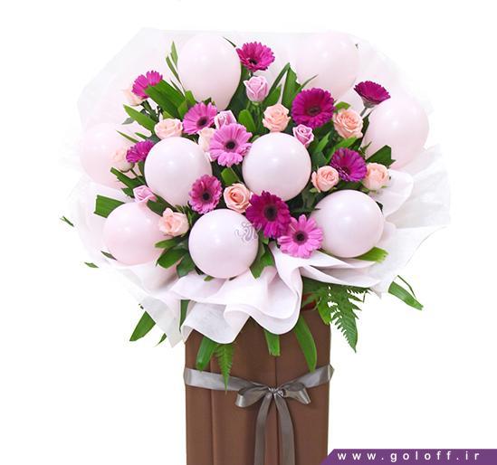 سبد گل زیبا - سبد گل پریرا - Prpra | گل آف