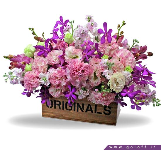 گل فروشی آنلاین اصفهان - سبد گل کارتاگو - Kartago | گل آف
