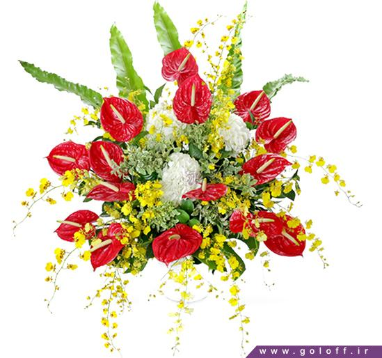 خرید گل - سبد گل هوناز - Honaz | گل آف