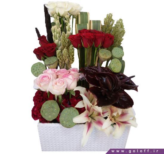 خرید گل در اصفهان - سبد گل دیمنا - Dimna | گل آف