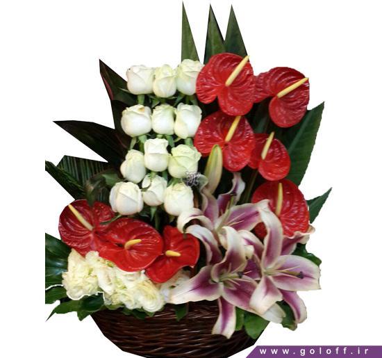 سبد گل نامزدی - سبد گل بوریس - Borys | گل آف