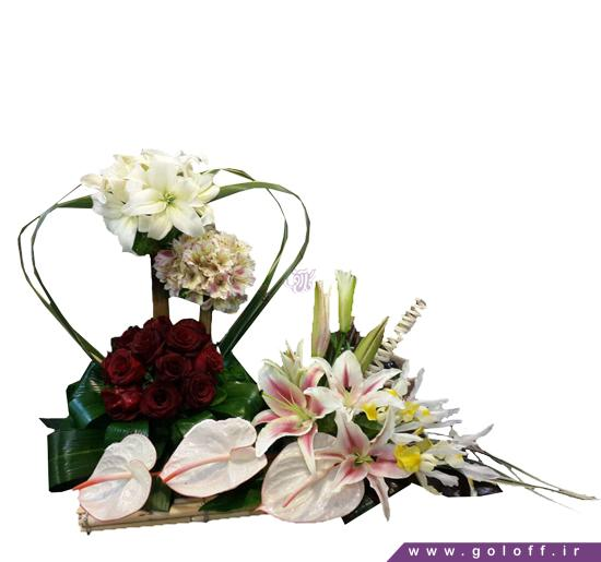 خرید سبد گل - سبد گل گِرِک - Gerek | گل آف