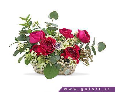 خرید گل - سبد گل مونتریا - Montereia | گل آف