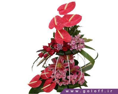 خرید اینترنتی گل - سبد گل ماگدالِنا - Magdalena | گل آف