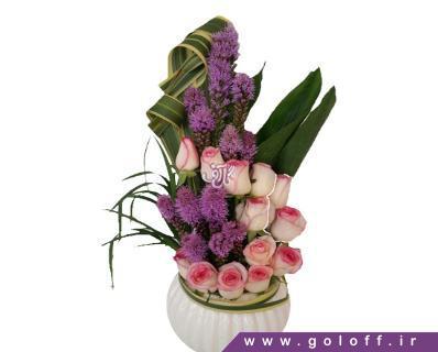 سبد گل زیبا - سبد گل اِوِلینا - Ewelina | گل آف