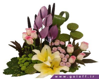 خرید گل آنلاین - سبد گل ایزولدا - Izolda | گل آف