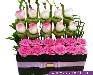 باکس گل رز - جعبه گل جاروسلاو - Jaroslaw | گل آف