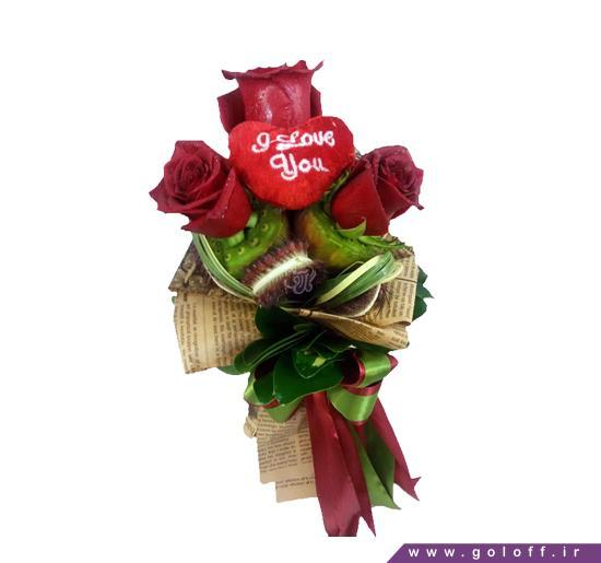 خرید اینترنتی گل رز - گل تک شاخه راینا - Rayna | گل آف