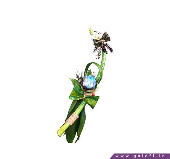 خرید اینترنتی گل طبیعی - گل تک شاخه رُزا - Roza | گل آف