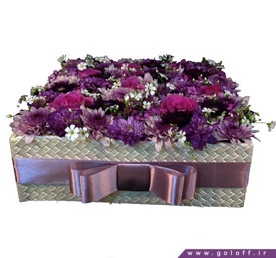 جعبه کادویی گل - جعبه گل ویِسلاو - Wieslaw | گل آف