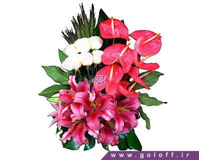 سبد گل زیبا - سبد گل توماژ - Tomasz | گل آف