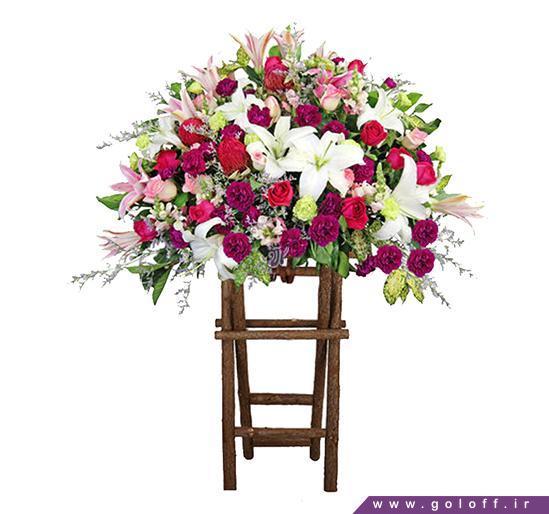 خرید گل در اصفهان - تاج گل سَن میگل - San Miguel | گل آف