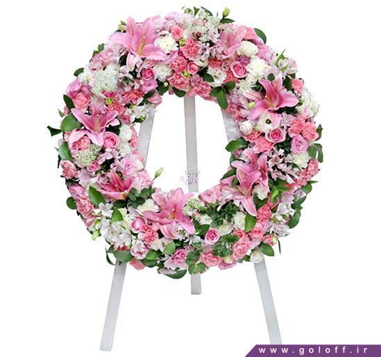 خرید اینترنتی گل طبیعی - تاج گل سانتا باربارا - Santa Bárbara | گل آف