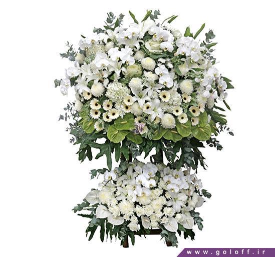 گل سرای آنلاین اصفهان - تاج گل فلورنسیا - Florencia | گل آف