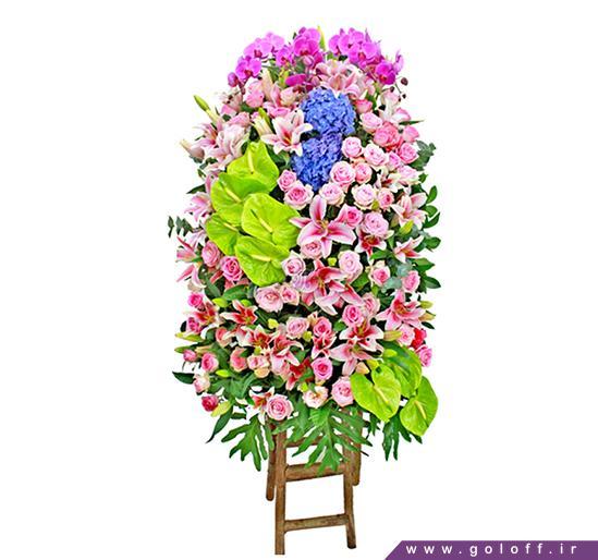 خرید اینترنتی گل - تاج گل اِسپینال - Espinal | گل آف