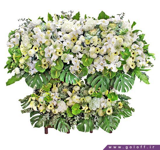 خرید تاج گل کالارکا - Calarcá | گل آف