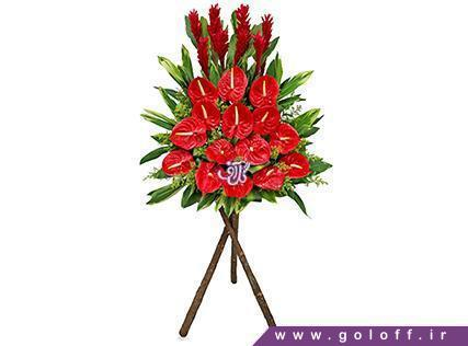 تاج گل طبیعی - تاج گل خاویِر - Javier | گل آف