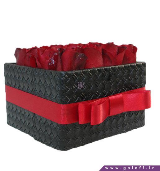 جعبه گل رز یومرا - خرید گل ولنتاین | گل آف فروش آنلاین گل