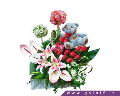 سبد گل ولنتاین بیگا - خرید گل ولنتاین | سفارش گل در اصفهان گل آف